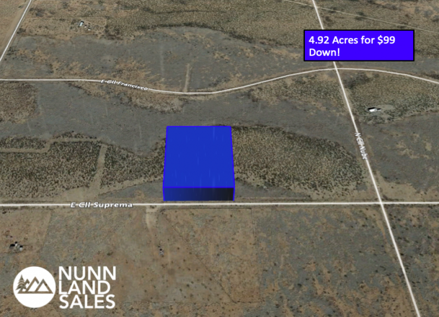 4.92 Acres for $99 Down!