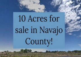 10 acres for sale Navajo County