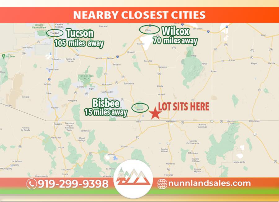 Douglas, Arizona 85607, ,Land,Sold,1289