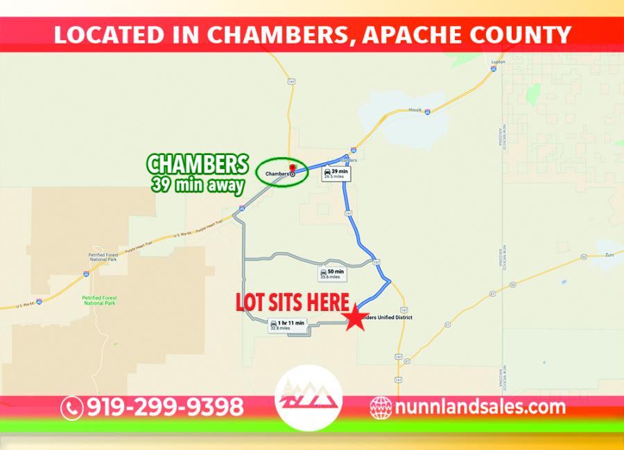 Chambers, Arizona 86502, ,Land,Sold,1358